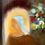 1912.profilo e fiori