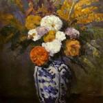 Cezanne - Dahlias