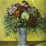 Cezanne - Flowers in a Blue Vase