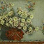 Claude Monet - Crisantemi 1878