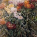 Clump of Chrysanthemums, Garden at Petit Gennevilliers