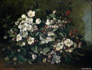 Courbet - Fleurs de cerisier 1871