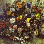 Delacroix Bouquet of Flowers