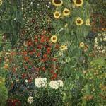 Farmergarden with Sunflower1905-06 - Vienna
