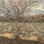 Gogh Van,19,FRA, Apricot Trees in Blossom 2