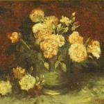 Gogh Van,19,FRA, Bowl with Peonies and Roses