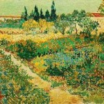 Gogh Van,19,FRA, Flowering Garden with Path