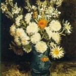 Gogh Van,19,FRA, Flowers in a Blue Vase