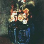Gogh Van,19,FRA, Ginger Jar Filled with Chrysanthemums