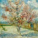 Gogh Van,19,FRA, Pink Peach Tree in Blossom Reminiscence of Mauve