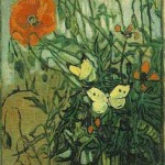 Gogh Van,19,FRA, Poppies and Butterflies