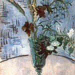 Gogh Van,19,FRA, Still Life Glass with Wild Flowers
