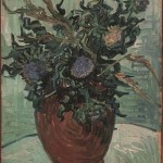 Gogh Van,19,FRA, Still Life Vase with Flower and Thistles