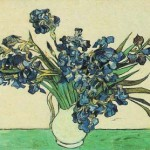 Gogh Van,19,FRA, Still Life Vase with Irises