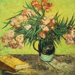 Gogh Van,19,FRA, Still Life Vase with Oleanders and Books
