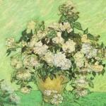 Gogh Van,19,FRA, Still Life Vase with Roses