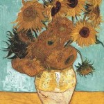 Gogh Van,19,FRA, Still Life Vase with Twelve Sunflowers