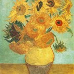 Gogh Van,19,FRA, Still Life Vase with Twelve Sunflowers 3