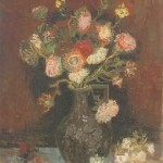 Gogh Van,19,FRA, Vase with Asters and Phlox