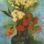 Gogh Van,19,FRA, Vase with Carnations and Other Flowers