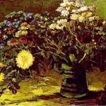 Gogh Van,19,FRA, Vase with Daisies