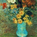 Gogh Van,19,FRA, Vase with Daisies and Anemones