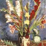 Gogh Van,19,FRA, Vase with Gladioli