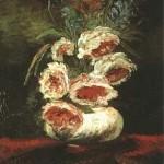 Gogh Van,19,FRA, Vase with Peonies