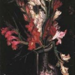 Gogh Van,19,FRA, Vase with Red Gladioli