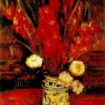 Gogh Van,19,FRA, Vase with Red Gladioli2