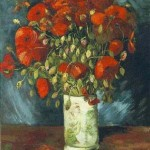 Gogh Van,19,FRA, Vase with Red Poppies
