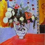 Henri Matisse - Bouquet (Vase with Two Handles)