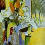 Henri Matisse - Bouquet of Flowers on the Veranda