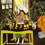 Henri Matisse - Interior with Etruscan Vase