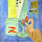 Henri Matisse - Red Fish and a Sculpture