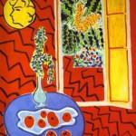 Henri Matisse - Red Interior. Still Life on a Blue Table