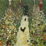 Klimt - Garden Path with Chickens