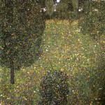 Landscape of a garden, 1906 - Private collection