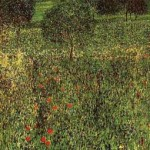Landscape of a garden, 1910 - Pittsburgh, Carnegie Institute