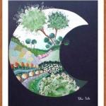 Luna con marco - Pilar Sala