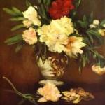 Peonies in a vase