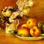 Pierre-Auguste Renoir - Apples and Flowers (Les pommes et fleurs)