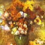 Pierre-Auguste Renoir - Bouquet of Chrysanthemums