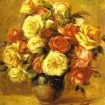 Pierre-Auguste Renoir - Bouquet of Roses (Bouquet de roses)