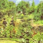 Pierre-Auguste Renoir - Garden at Fontenay