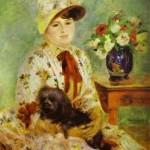 Pierre-Auguste Renoir - Portrait of Madame Hagen
