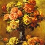 Pierre-Auguste Renoir - Roses in a Vase