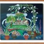Pintando tras el jarron - Pilar Sala
