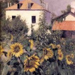 Sunflowers, Garden at Petit Gennevilliers