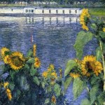 Sunflowers on the Banks of the Seine